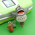 Ghibli My Neighbor Totoro ~Tonari No Totoro~ Key Chain Totoro & Acorn