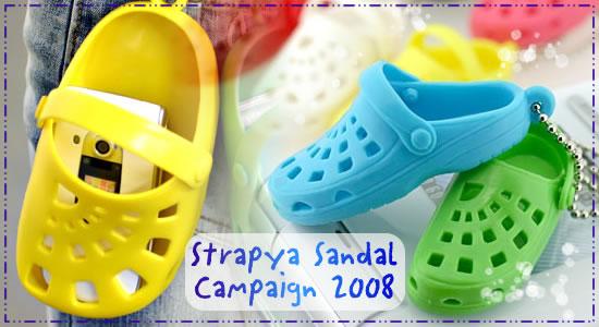 Strapya Sandal Campaign 2008