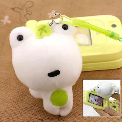 San-X Tsuginohi Kerori Puppet Cleaner Cell Phone Strap